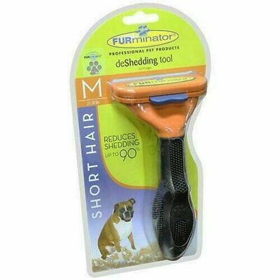 FURminator deShedding Tool for Short Hair Dogs Medium 21-50lbs, Brand New
