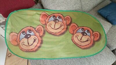 car window sun blinds monkey themed for child children