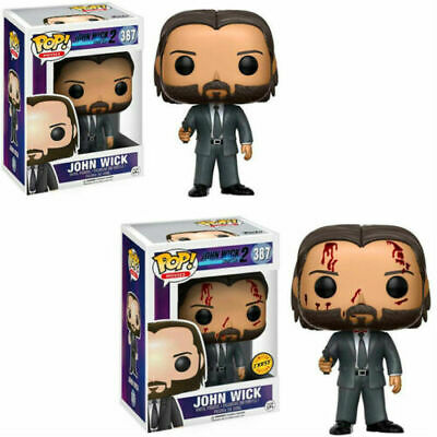 John Wick:Chapter 2 #387 Funko Pop! John Wick Vinyl Figure Toys Model 10CM NEW