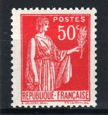 "FRANCE STAMP TIMBRE YVERT 283 s "" PAIX 50c FAUX DE BARCELONE "" NEUF xx LUXE R763"