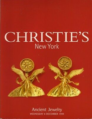 CHRISTIE'S Ancient Jewelry Roman Egyptian Byzantine Auction Catalog 1999
