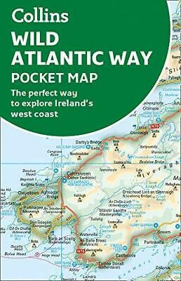 Wild Atlantic Way Pocket Map by Collins Maps Sheet map folded NEW Book