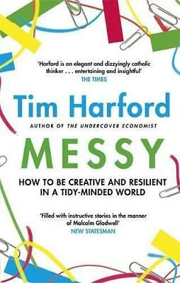 Messy by Tim Harford Paperback NEW Book