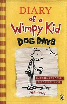 Dog Days Diary of a Wimpy Kid book 4 by Jeff Kinney Paperback NEW Book