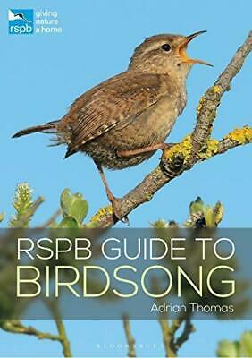 RSPB Guide to Birdsong by Adrian Thomas Paperback NEW Book