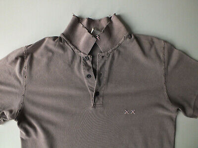 PROJECT E XX MENS T-SHIRT - Distressed - Large - Prepster - Grey