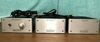 MUSICAL FIDELITY X-CAN v3 Headphone Amplifier ~ Exc