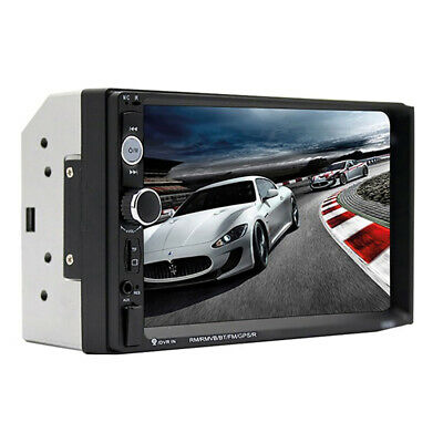 """Car MP5 7"""" inch Double 2 DIN Player Bluetooth Touch Screen Stereo Radio NoCamera"""