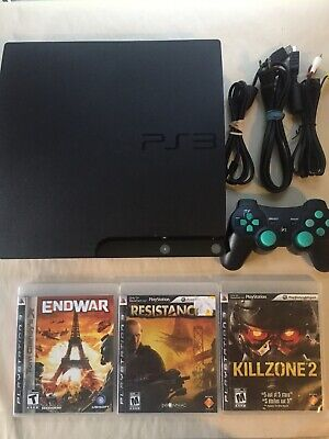 ~Cleaned & Tested~ Sony Playstation 3 PS3 Console 120GB Fast Shipping Canada