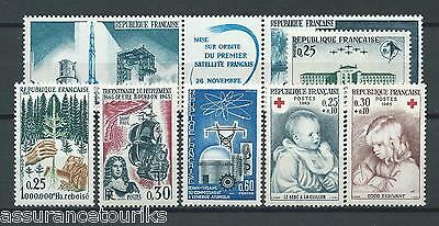 FRANCE - 1965 YT 1460 à 1467 - TIMBRES NEUFS** LUXE