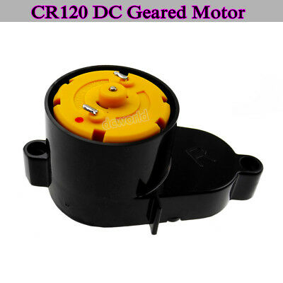 CR120 DC Geared Motor DC 3-12V Gear Motor 500 Motor With Reduction Ratio 20:1 UK
