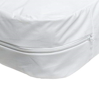 Mattress Cover Waterproof Zippered Hypoallergenic Bed Bug Protector Twin Size US