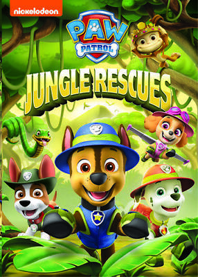 Paw Patrol: Jungle Rescues [New DVD] Ac-3/Dolby Digital, Amaray Case, Dubbed,