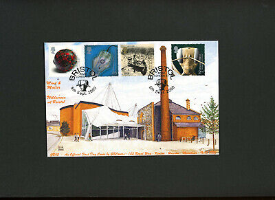 2000 Mind & Matter Bristol Road London  E7 GB Covers Official FDC Cat £25