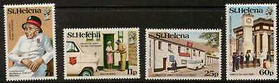 St.helena Sg446/9 1984 Salvation Army  Mnh