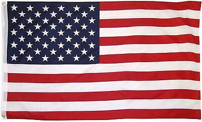 US USA American Stars Stripes America National 5 x 3Ft Supporters Fans Flag 2Pcs
