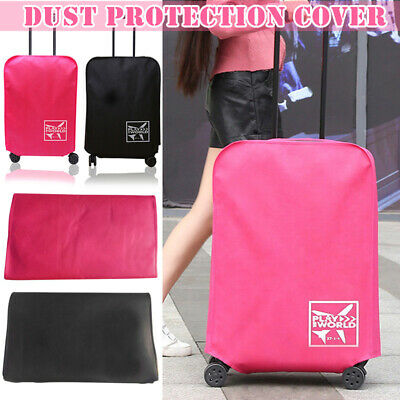 1 Pcs Protective Travel Luggage Suitcase Dustproof Cover Protector Case Reusable
