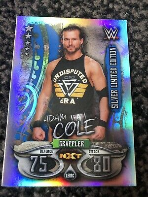 Topps Slam Attax Live Silver Limited Edition Adam Cole