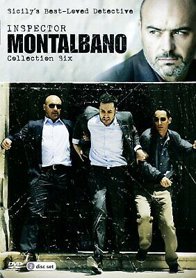 Inspector Montalbano Collection 6  NEW DVD SET Luca Zingaretti