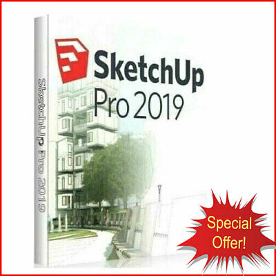 SketchUp Pro 2019 ⭐ LifeTime ⭐ Windows ⭐ INSTANT DELIVERY ⭐