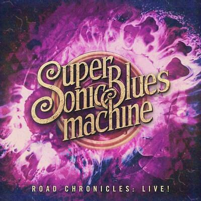 SUPERSONIC BLUES MACHINE ROAD CHRONICLES LIVE! CD (Released JULY 12th 2019)
