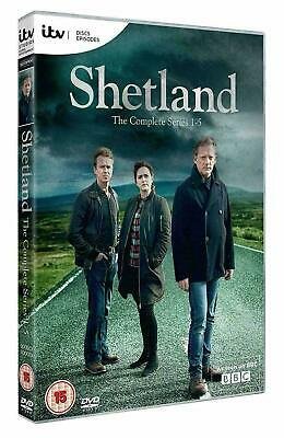 Shetland Series / Season 1-5 DVD New & Sealed Region 2 UK Fast Delivery