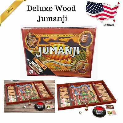 Jumanji The Game In Real Wooden Box Toys Puzzles Board Games Fun