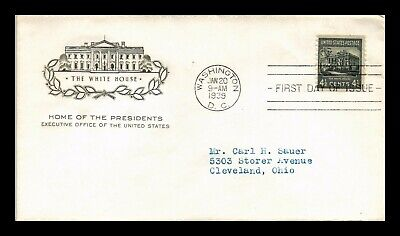 Dr Jim Stamps Us White House Presidential Series Fdc Cover Scott 809