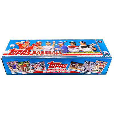 2019 Topps Baseball Complete Factory Sealed Set