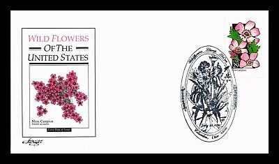Dr Jim Stamps Us Moss Campion Wildflowers First Day Cover Artmaster