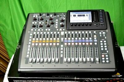 Behringer X32 Compact 40-Input, 25 Bus Digital Mixing Console W/Pwr Cord (One)