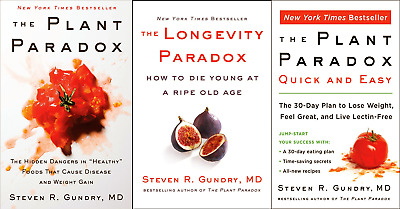 All 3 The Plant Paradox by Dr. Steven R Gundry M.D. PDF Fast Delivery