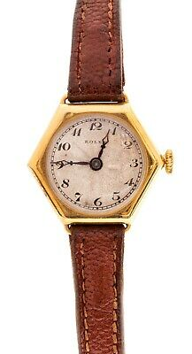 ROLEX - GOLD LADIES ART DECO WRISTWATCH - WORKING -1930s - A LOVELY EXAMPLE
