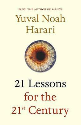 21 Lessons for the 21st Century by Yuval Noah Harari New Hardback Book