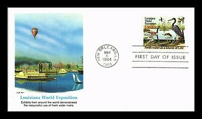 Dr Jim Stamps Us Louisiana World Exposition First Day Cover Fleetwood