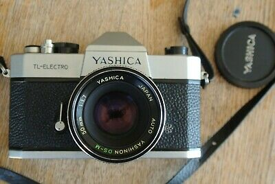 Yashica TL Electro 35mm SLR Camera + 50mm Auto DS-M 50mm 1:1.7