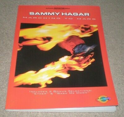 SAMMY HAGAR MARCHING to Mars Sheet Music Song Book Songbook