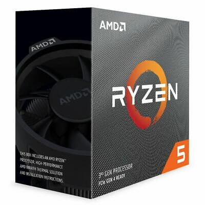 AMD Ryzen 5 3600 3.6GHz 6 Core AM4 Boxed Processor with Wraith Spire Cooler
