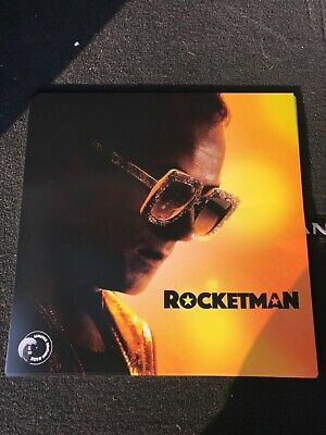 Rocketman Limited Edition Poster 12 x 12 (Elton John) - Version One
