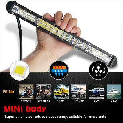12inch 130W LED Light Bar  SPOT FLOOD Combo 4WD CAR ATV RZR 900 RZR XP1000  10''