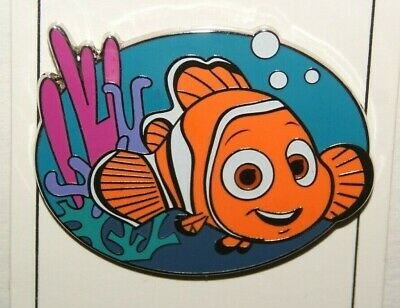 Disney Parks Finding Nemo in Coral with Bubbles June 2019 Pin New On Card NOC OE