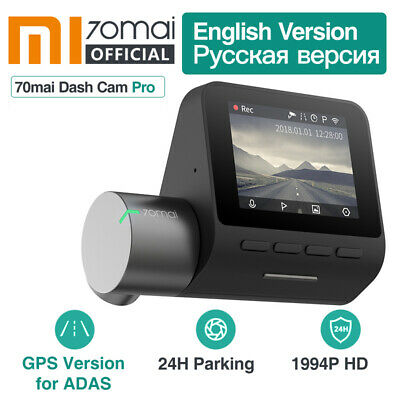 Xiaomi 70mai Dash Cam Pro Smart WiFi Car DVR Camera Video HD Voice Control US