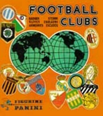 Football Clubs 1975 Panini Badges Scudetti Removed At Your Choice