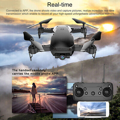 Quadcopter Drone X12 2MP 720P HD  Selfie Camera WiFi FPV Foldable Arm