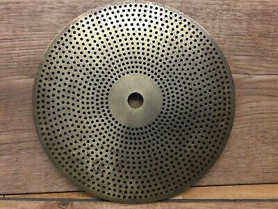 LARGE WATCHMAKERS/CLOCKMAKERS LATHE BRASS DIVISION PLATE APPROX 16.5cm DIA.