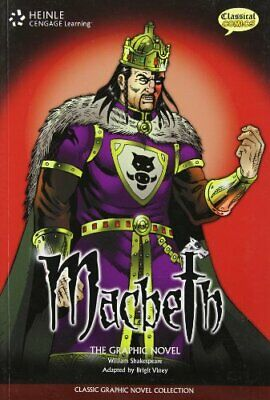 Macbeth: Classic Graphic Novel Collection by Shakespeare Book The Fast Free