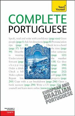 Complete Portuguese (Teach Yourself: Language) by Cook, Manuela Book The Fast