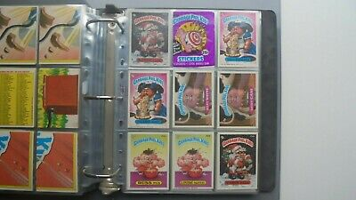 Garbage Pail Kids USA 1986 Series 7 OS7 Complete 88 Card Set + wrapper - Ex/Nm