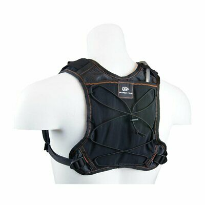 Orange Mud Gear Vest 1L Black Orange 2.0 Trinkrucksack Trinksystem Trinkweste