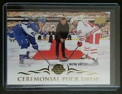 2018-19 Upper Deck #Cpd-6 Ceremonial Puck Drop Wayne Gretzky Sp    Ve543